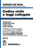 Codice civile e leggi collegate 2012