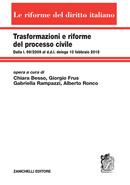 Trasformazioni e riforme del processo civile