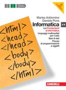 Volume secondo biennio multimediale con Fondamenti di informatica + DVD